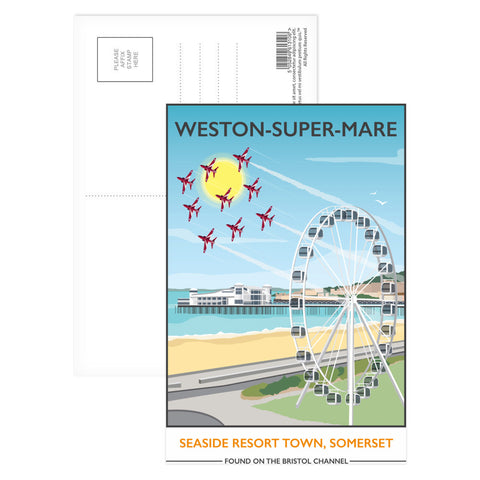 Weston Super Mare, Somerset Postcard Pack