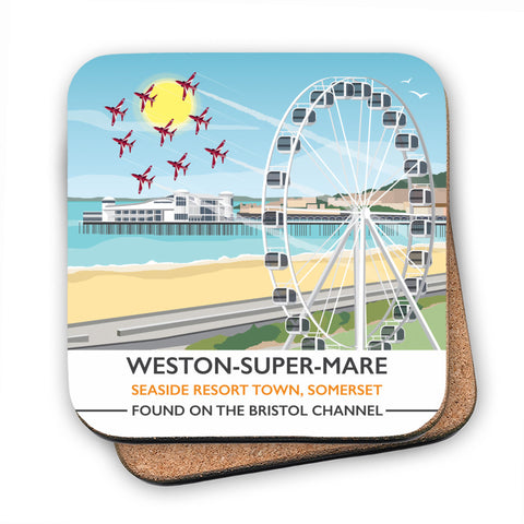 Weston Super Mare, Somerset MDF Coaster
