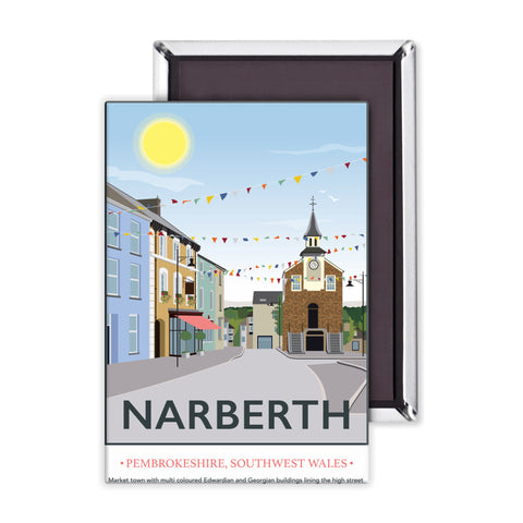 Narberth, Wales Magnet