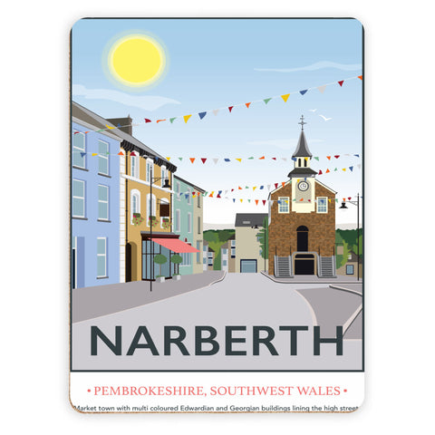 Narberth, Wales Placemat