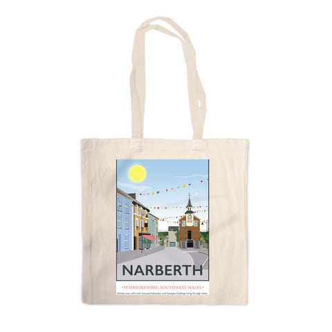 Narberth, Wales Canvas Tote Bag