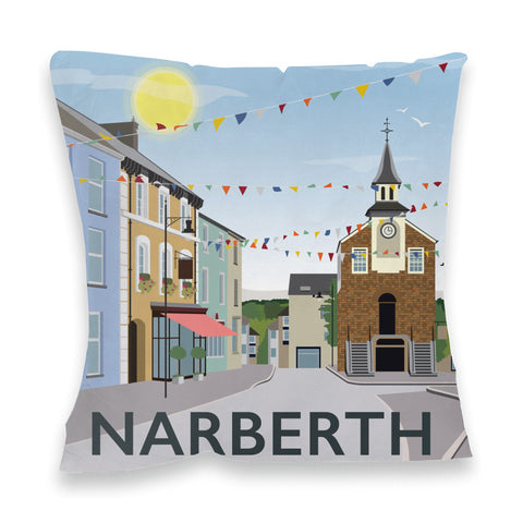 Narberth, Wales Fibre Filled Cushion