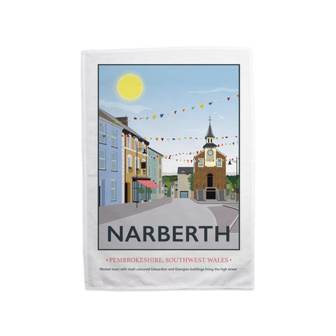 Narberth, Wales Tea Towel