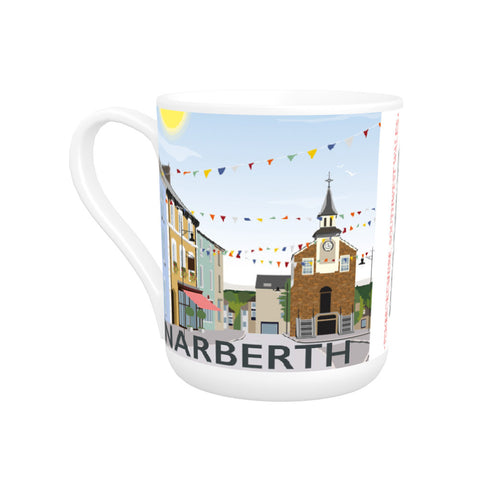 Narberth, Wales Bone China Mug