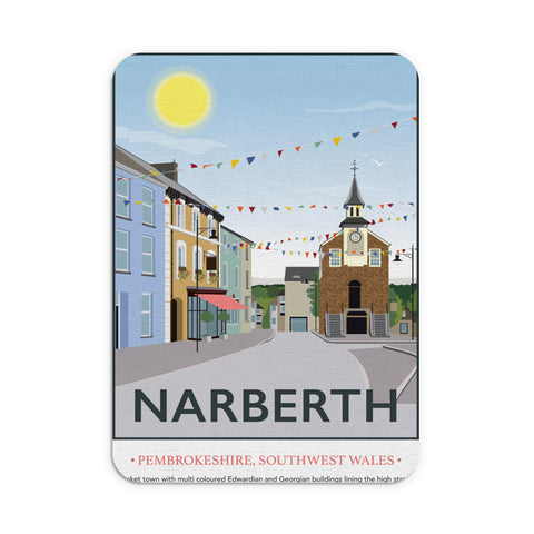 Narberth, Wales Mouse mat