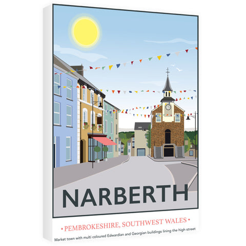 Narberth, Wales 60cm x 80cm Canvas