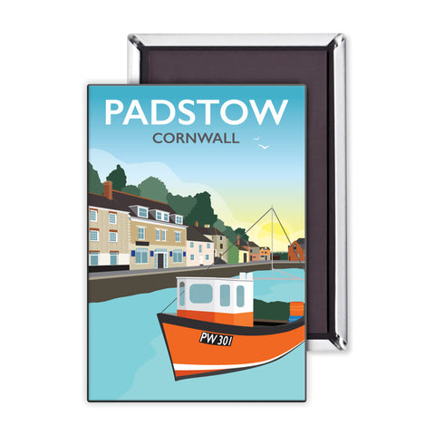 Padstow, Cornwall Magnet