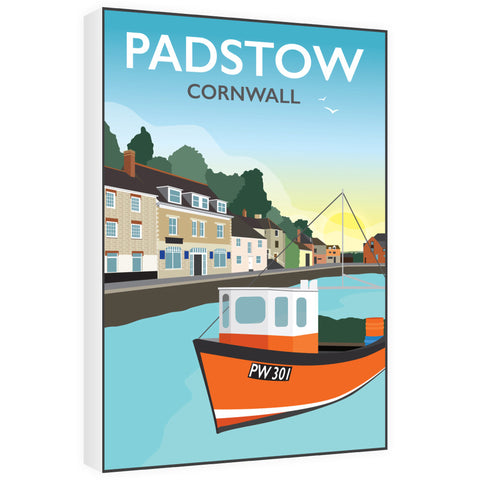 Padstow, Cornwall 60cm x 80cm Canvas