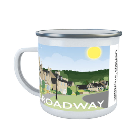 The Cotswolds, Enamel Mug