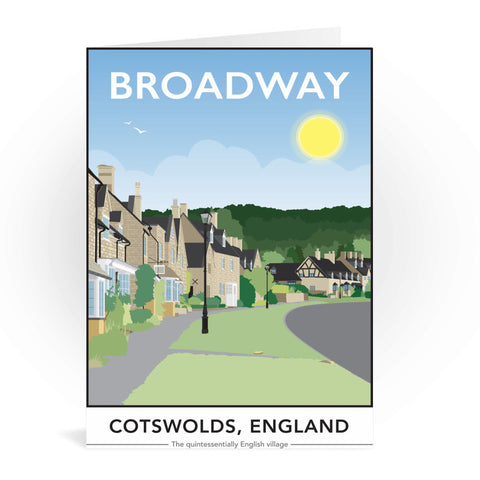 The Cotswolds, Greeting Card 7x5