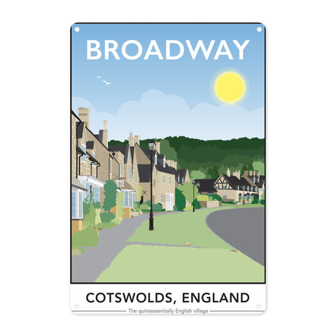 The Cotswolds, Metal Sign