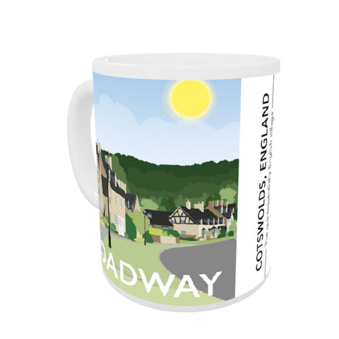The Cotswolds, Coloured Insert Mug