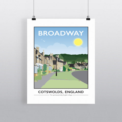The Cotswolds, 90x120cm Fine Art Print