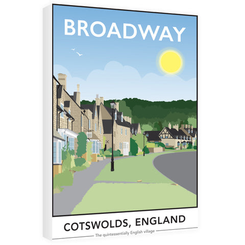 The Cotswolds, 60cm x 80cm Canvas