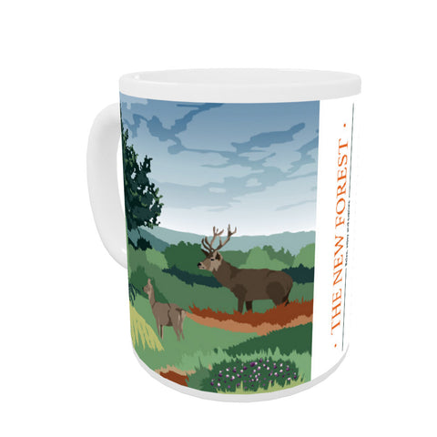 The New Forest, Hampshire Coloured Insert Mug