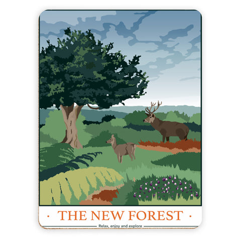 The New Forest, Hampshire Placemat
