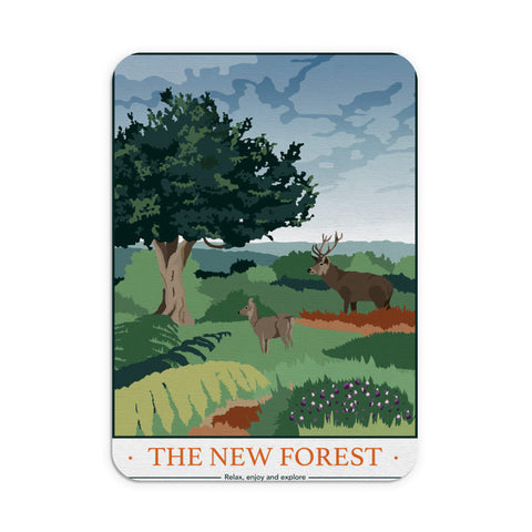The New Forest, Hampshire Mouse mat