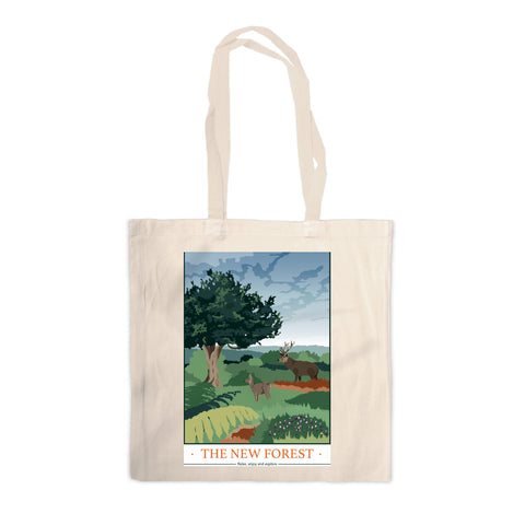 The New Forest, Hampshire Canvas Tote Bag
