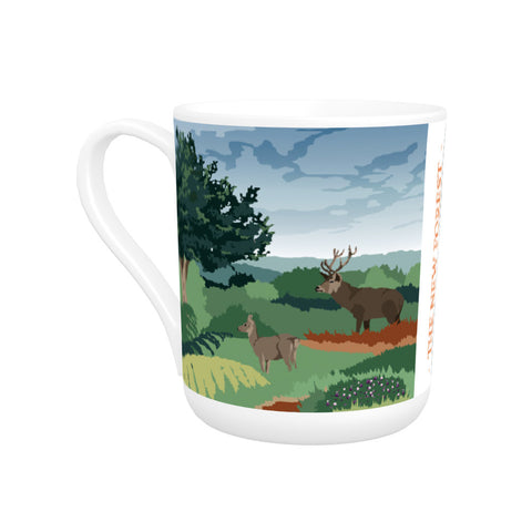 The New Forest, Hampshire Bone China Mug
