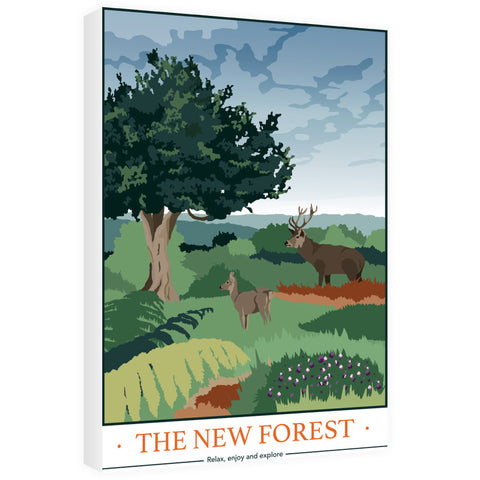 The New Forest, Hampshire 60cm x 80cm Canvas