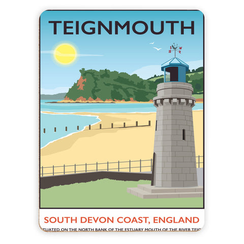 Teignmouth, Devon Placemat