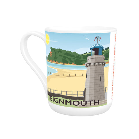 Teignmouth, Devon Bone China Mug