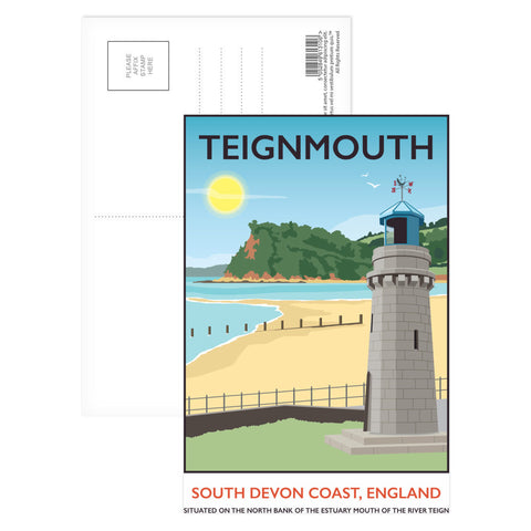 Teignmouth, Devon Postcard Pack