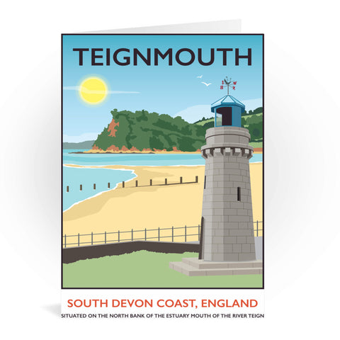 Teignmouth, Devon Greeting Card 7x5