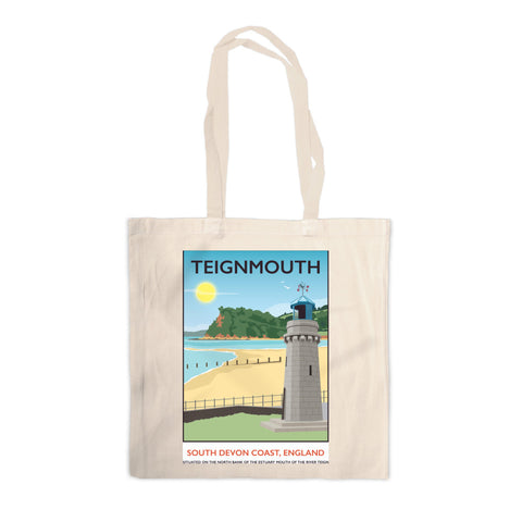 Teignmouth, Devon Canvas Tote Bag