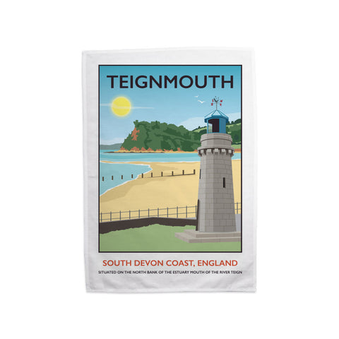 Teignmouth, Devon Tea Towel