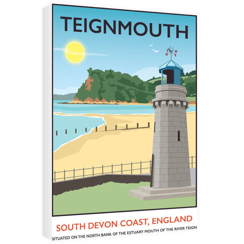 Teignmouth, Devon 60cm x 80cm Canvas