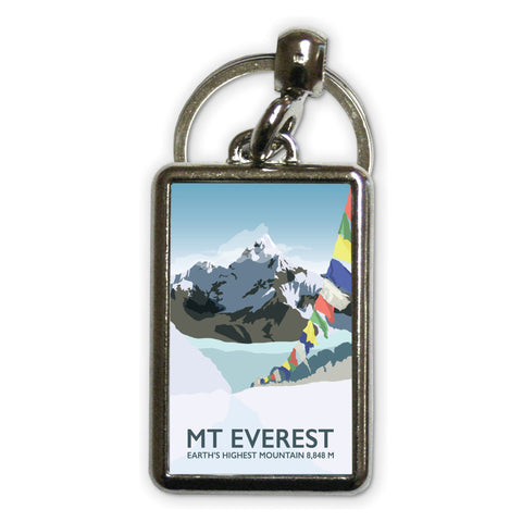 Mount Everest, Metal Keyring