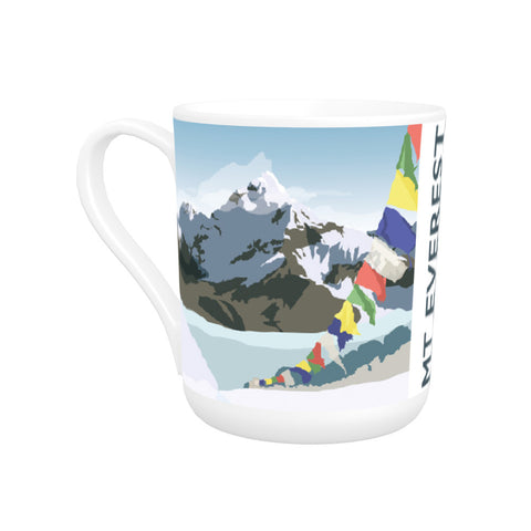 Mount Everest, Bone China Mug