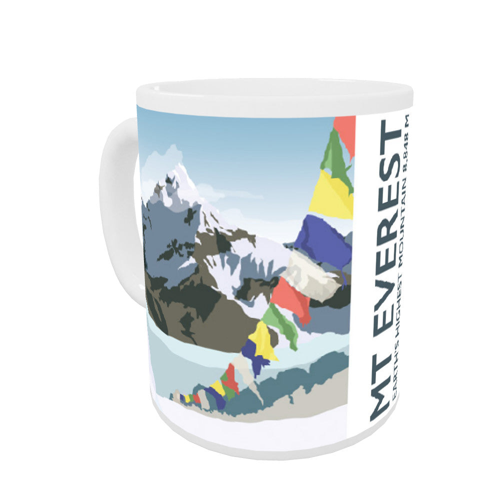 Mount Everest, Coloured Insert Mug