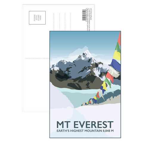Mount Everest, Postcard Pack
