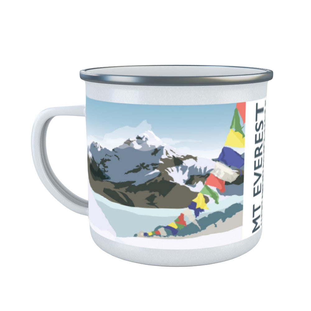 Mount Everest, Enamel Mug