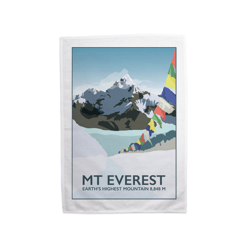Mount Everest, Tea Towel