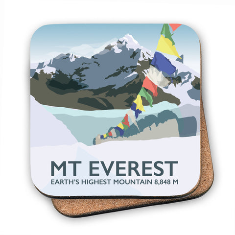 Mount Everest, MDF Coaster
