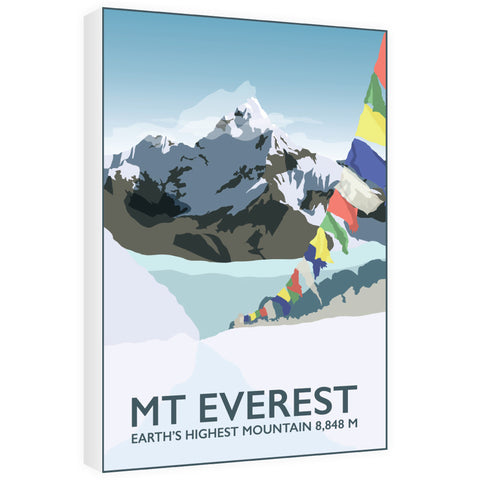 Mount Everest, 60cm x 80cm Canvas