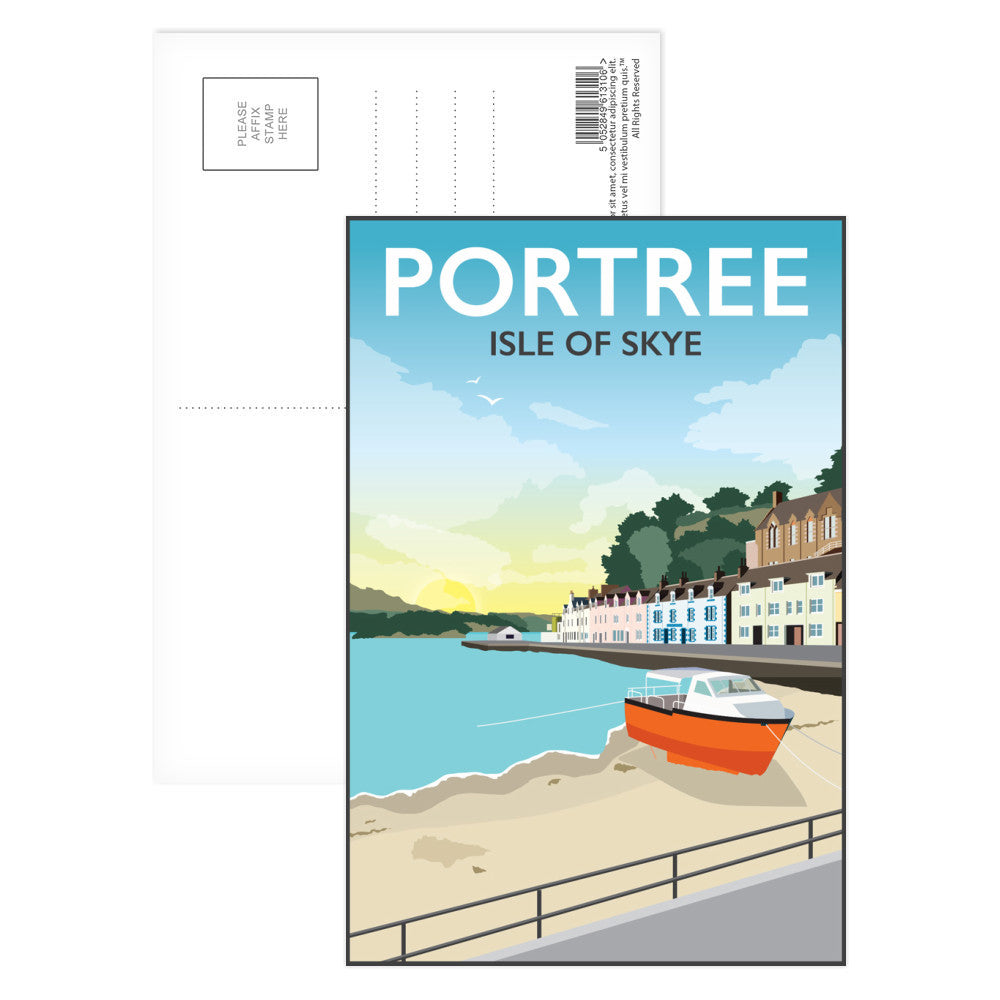 Portree, Isle Of Skye Postcard Pack