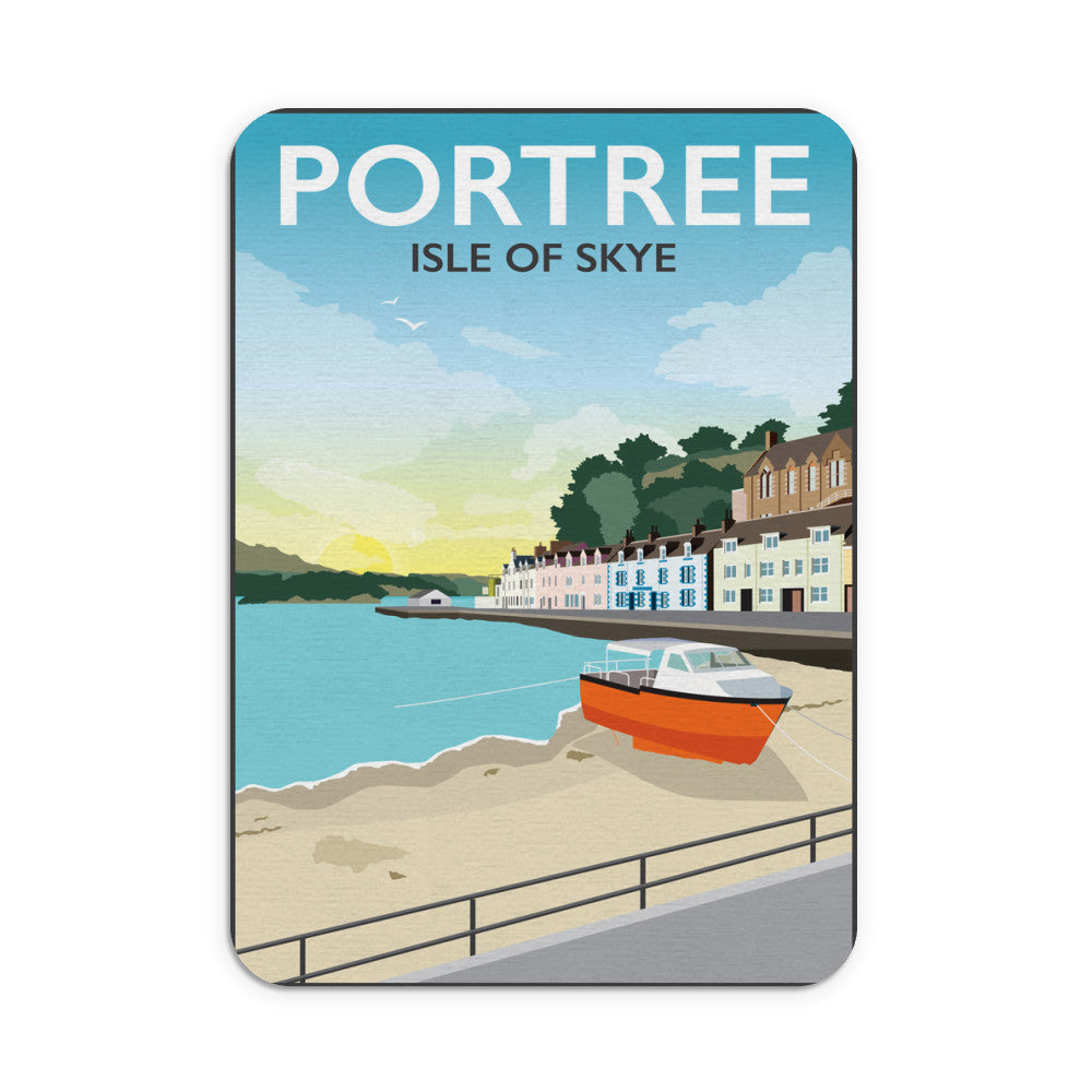 Portree, Isle Of Skye Mouse mat