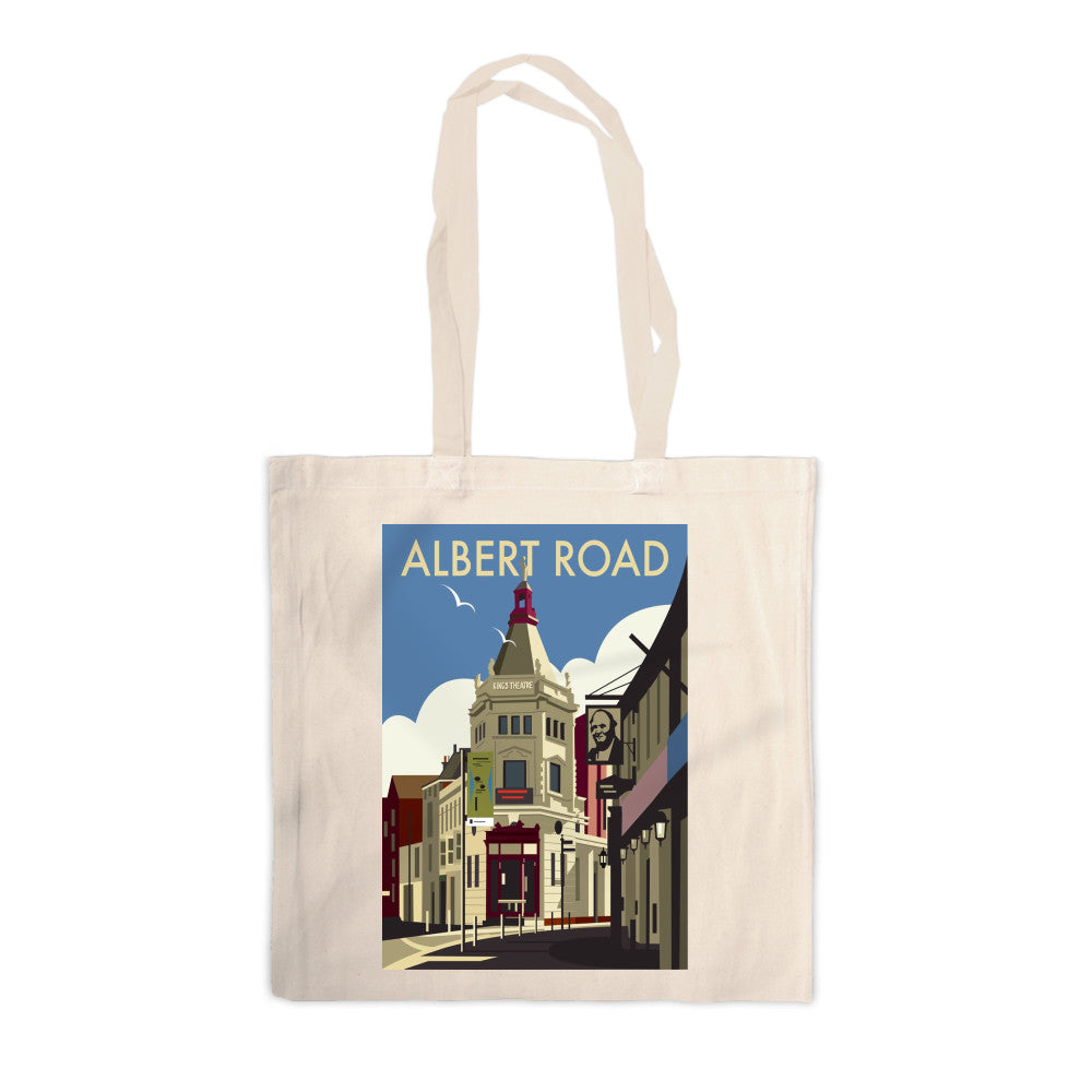 Albert Road, Portsmouth Canvas Tote Bag