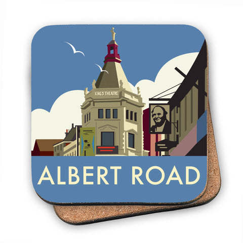 Albert Road, Portsmouth MDF Coaster