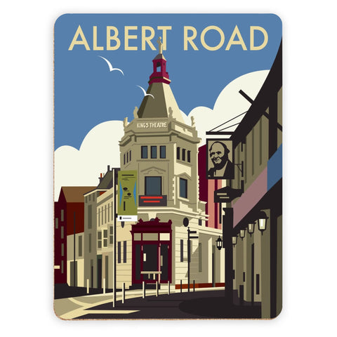 Albert Road, Portsmouth Placemat