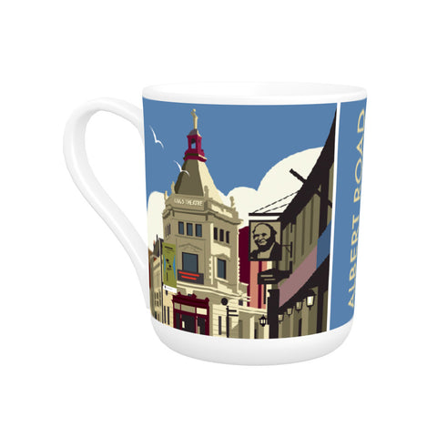 Albert Road, Portsmouth Bone China Mug