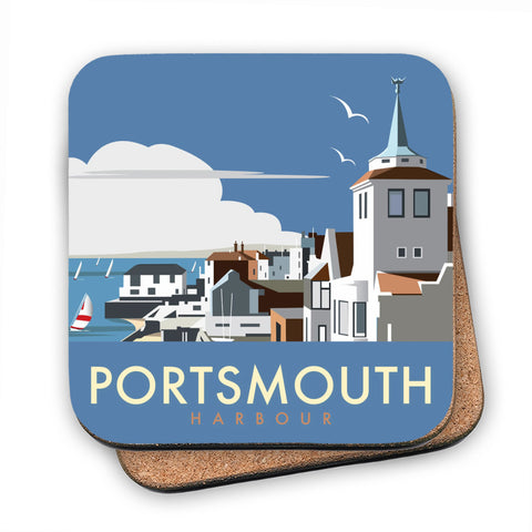 Portsmouth Harbour MDF Coaster