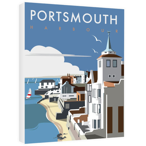 Portsmouth Harbour Canvas