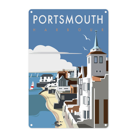 Portsmouth Harbour Metal Sign