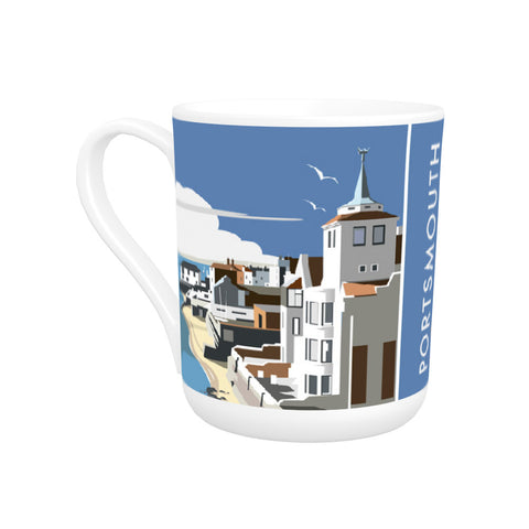 Portsmouth Harbour Bone China Mug