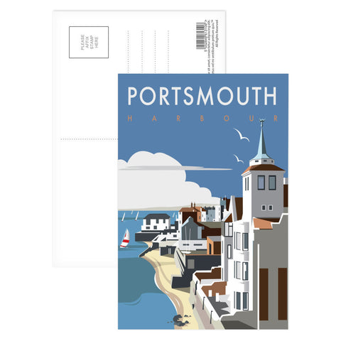 Portsmouth Harbour Postcard Pack
